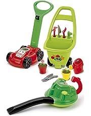 Ecoiffier - 584 - Outillage De Jardin pour Enfants - Super Pack - 3 en 1