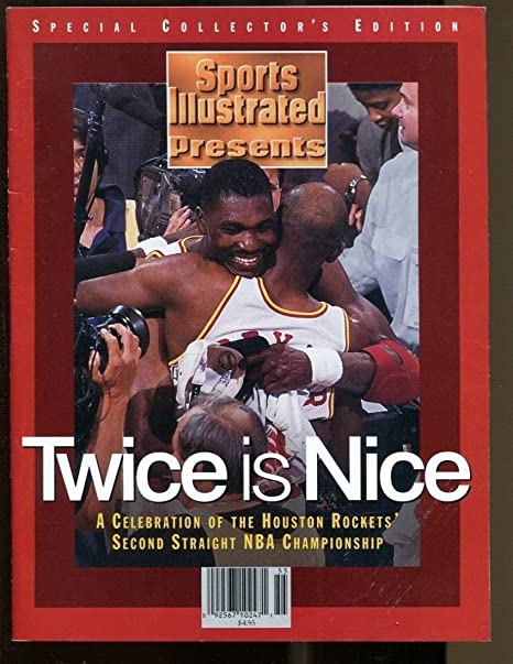 ddb0dde55be 1995 Sports Illustrated Commemorative Issue Houston Rockets at ...