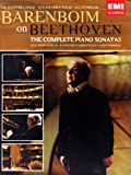The Masterclasses : Barenboim on Beethoven (the complete piano sonatas) - Coffret 6 DVD