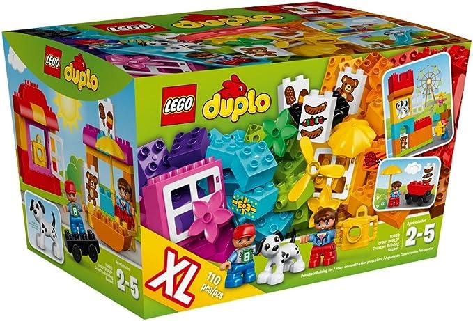 LEGO Duplo Cesta de construcción Creativa - Juegos de construcción (Cualquier género, Multi, 1/06/16, Hungría): Amazon.es: Juguetes y juegos