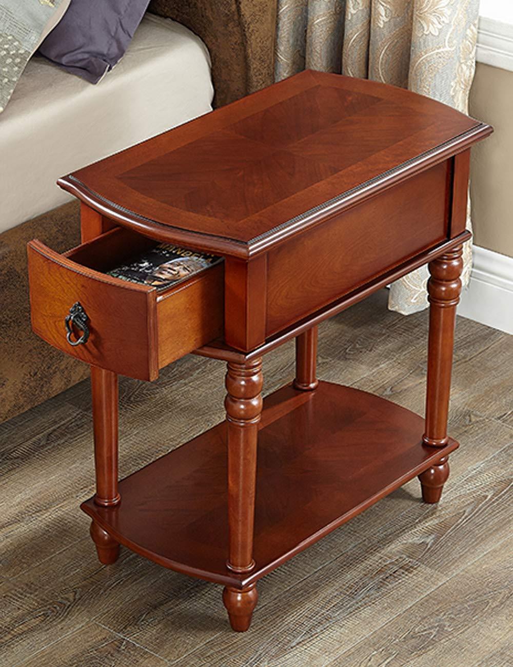 Amazon.com: Sofá lateral/lateral armario/salón pequeño mesa ...