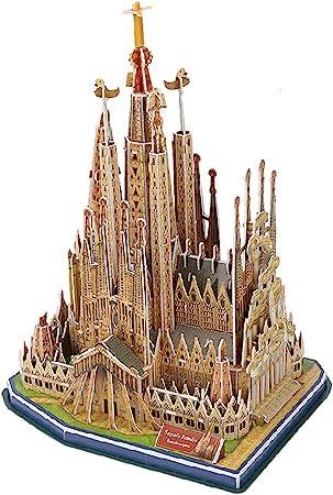 Black Temptation [Sagrada Familia] Papel Arquitectura La construcción de Modelos Puzzle 3D Jugue: Amazon.es: Juguetes y juegos