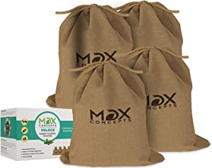 MDX Concepts Rodent Control Pouches- Pure Peppermint Oil Rodent Repellent- Indoor & Outdoor- Long Lasting Strong Mouse Deterrent for Car Engines (4)