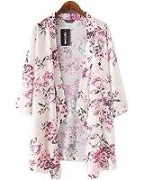 Feitong ,Sunward(TM) Women Boho Printed Chiffon Loose Shawl Kimono Cardigan