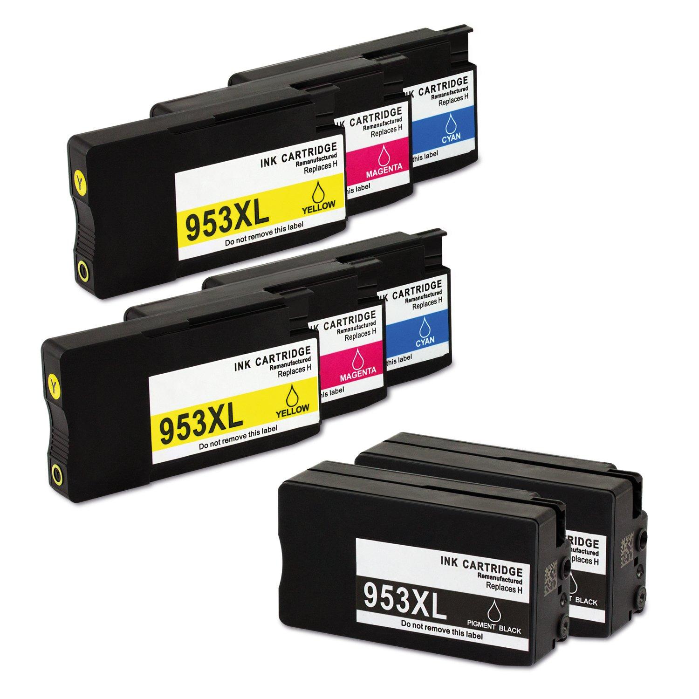 liondo® 8 tintas de/Cartuchos de impresora compatible con HP 953 ...