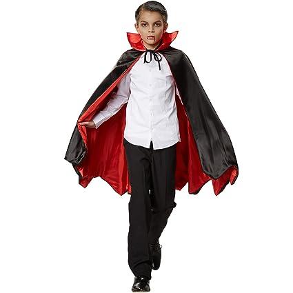 dressforfun 900372 - Mantello da Vampiro pipistrello a Bambini ... e00986687973
