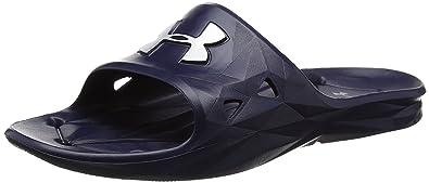 727d339f32f Amazon.com  Under Armour Men s Locker III Slide Cross-Trainer Shoe ...