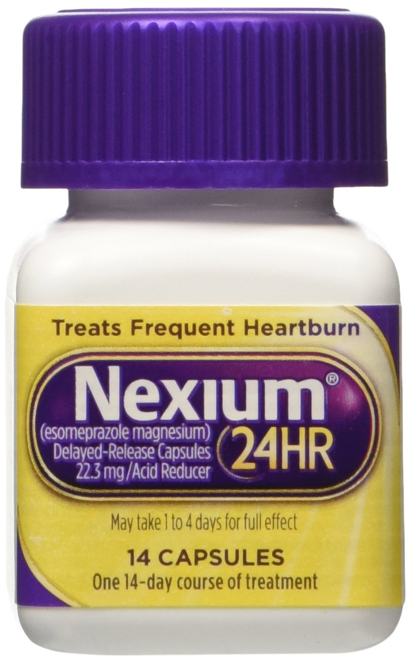 Nexium 24 Hr Acid Reducer Capsules, 42 Count by Nexium