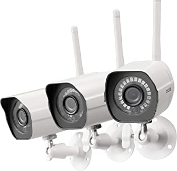 3-Pack Zmodo Full HD 1080p Outdoor Wireless Security Camera