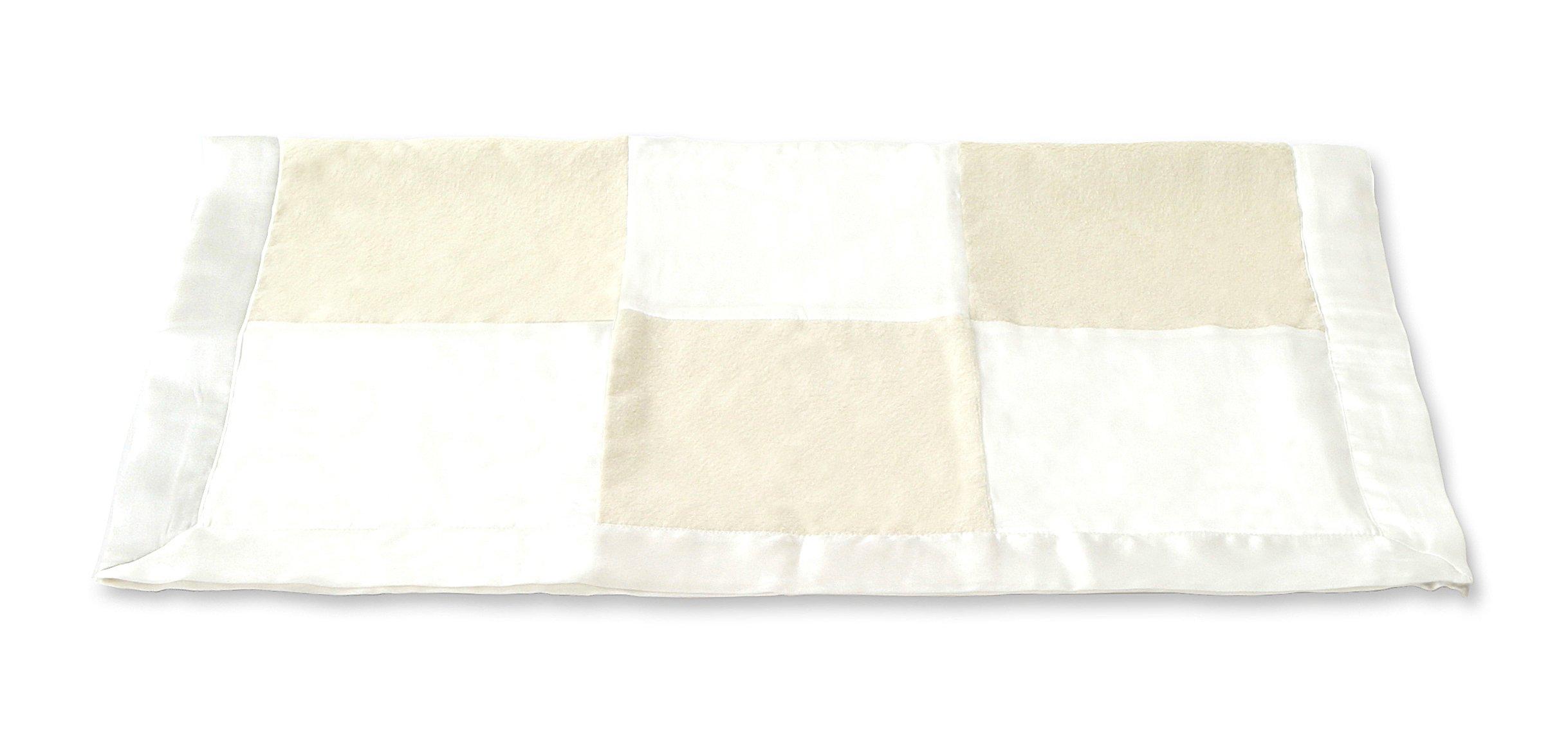 Lotus Springs Silk Patch Blanket (Cream)