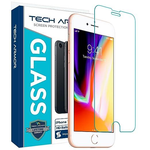 14 opinioni per Tech Armor- Pellicola protettiva in vetro antiproiettile per Apple iPhone 6S /
