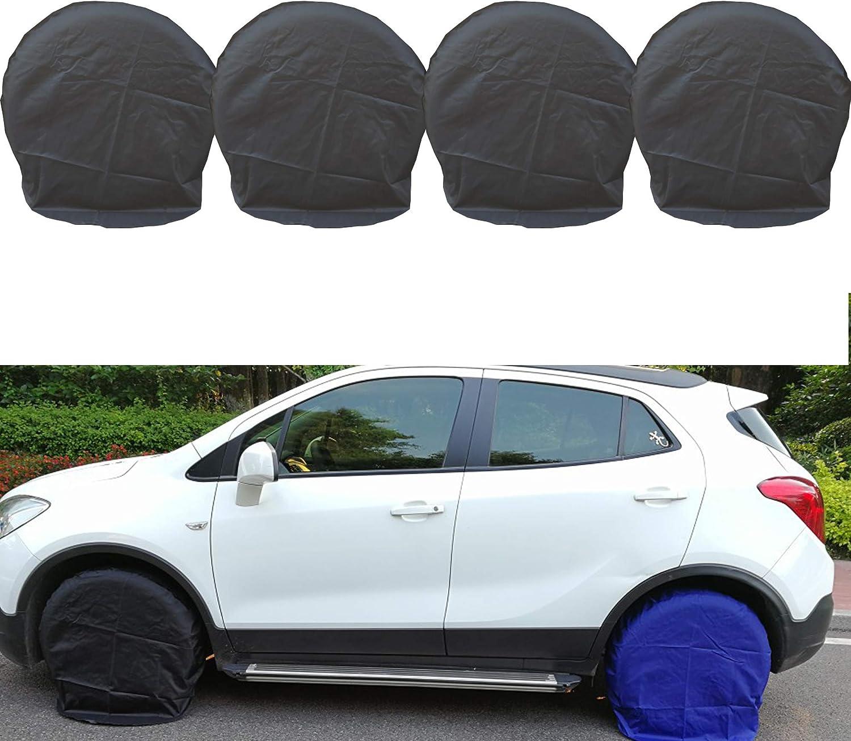 4pcs Wheel Tire Covers for RV Truck Car Auto Camper Trailer 32 inch Diameter New