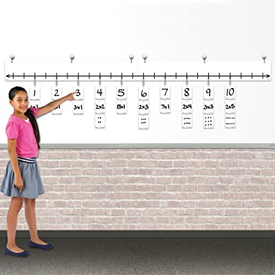 EAI Classroom Open Number Line Base Kit: Toys & Games
