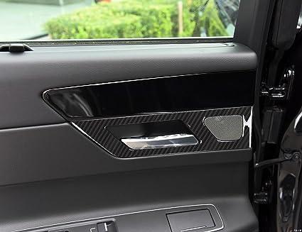 Amazon Com Abs Carbon Fiber Style Door Interior Door Handles Cover