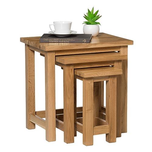 solid oak side tables. Black Bedroom Furniture Sets. Home Design Ideas