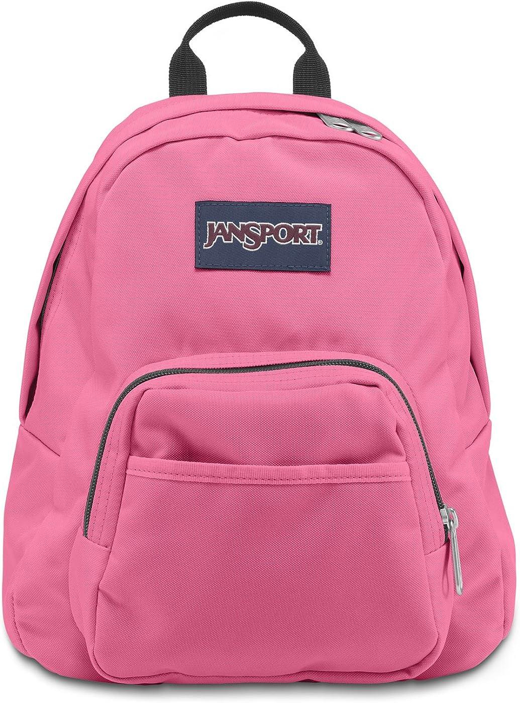 JanSport Half Pint Backpack Pink Pansy TDH69SF