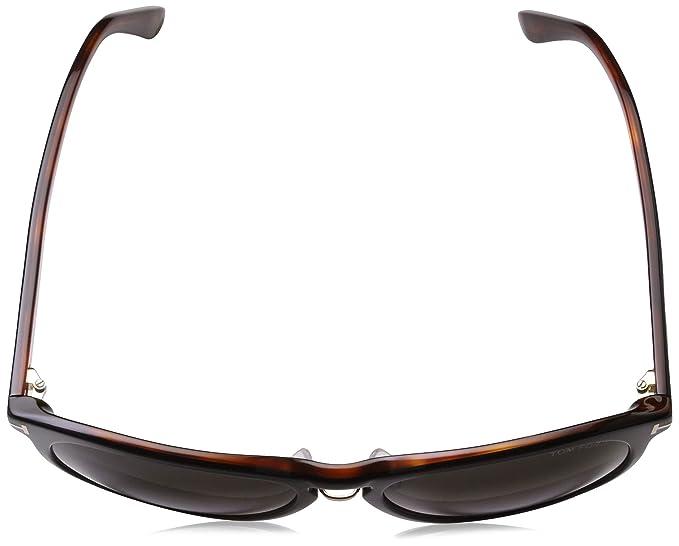 Amazon.com: Tom Ford anteojos de sol Franklin en color negro ...