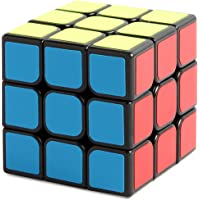 New Journey 1 Smooth Speed Puzzle Cube Magic Black -3 x 3 Twist rompicapi IQ Giocattoli per Bambini, 3 x 3GLOSSY