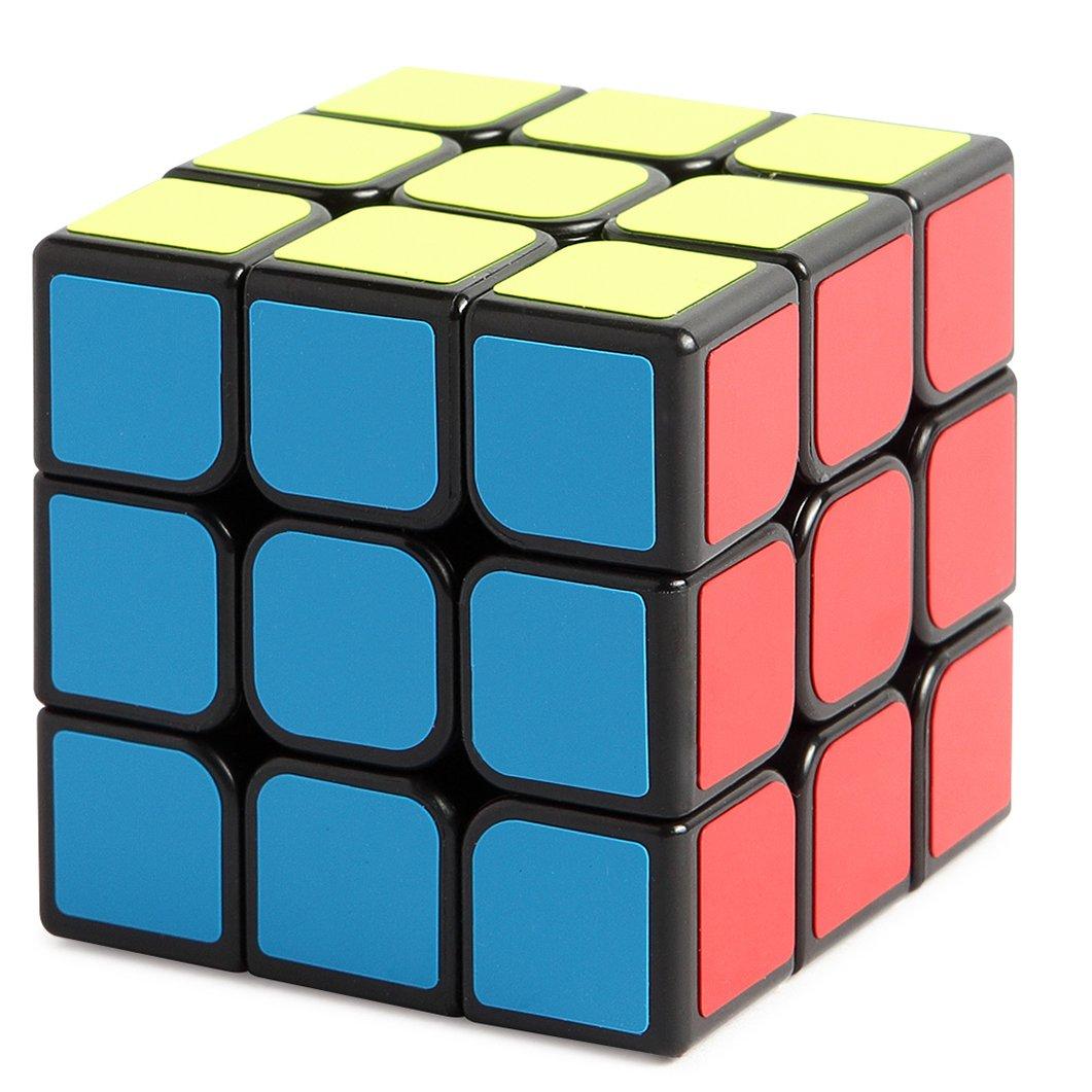 New Journey Cubo Rompecabezas cube IQ XX Negro velocidad Puzzle