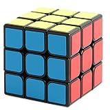 Cubo 3x3 Enhanced Edition liscio cubo magico nero