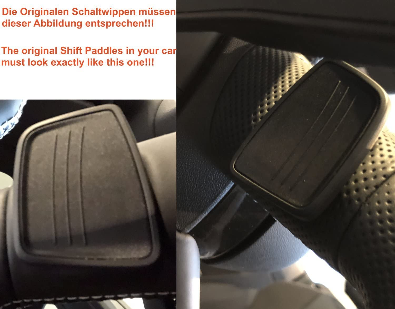 H-Customs Schaltwippen Shift Paddle Alu eloxiert rot 2015-2019 A4,A5,TT,TTS,Q7