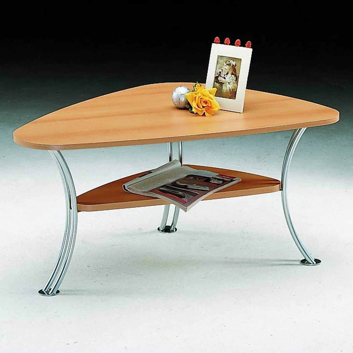 Alfa-Tische Table Basse Argent Naturel