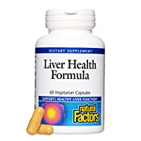 Natural Factors, Liver Health Formula, Nourishing Support for a Healthy Liver with...