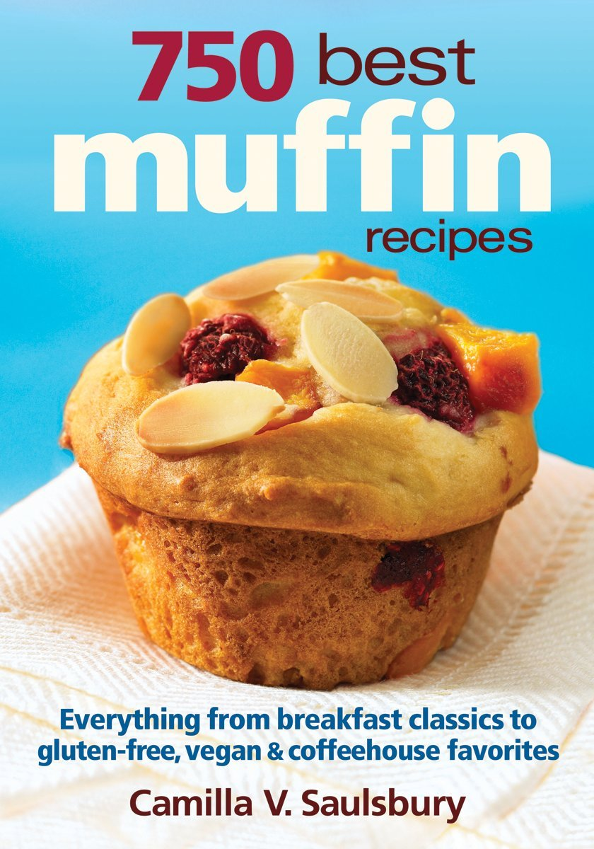 750 Best Muffin Recipes gluten free product image