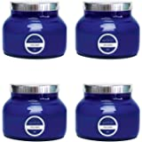 Capri Blue, Signature Collection Blue Jar Candle - Volcano - 19 Ounce, 4 Pack