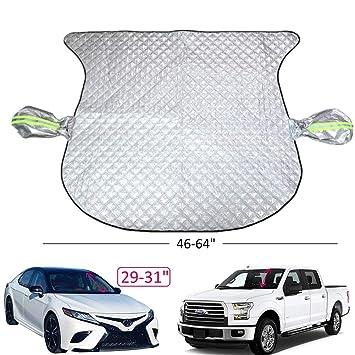 Tamaño Mediano Top Car Cover Frost Hielo Protector de pantalla fácil de adaptarse a toda la ventana