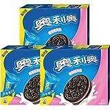 奥利奥夹心饼干家庭装466g*3盒 (夹心草莓味466g*3盒)