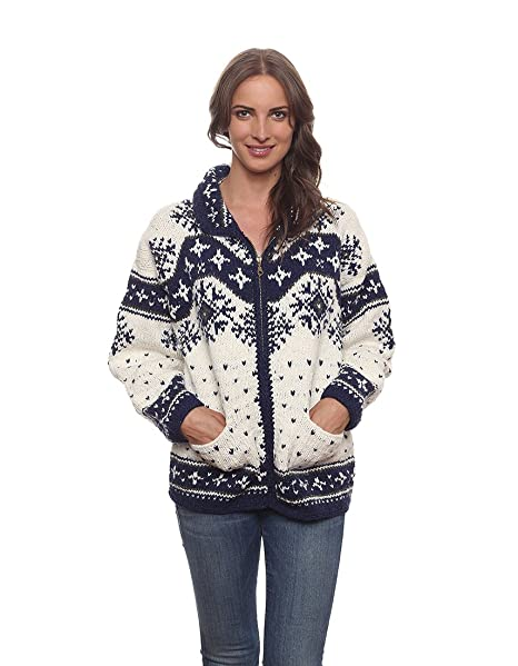 Invisible World Womens Cardigan Sweater Wool Cotton Blend Nian
