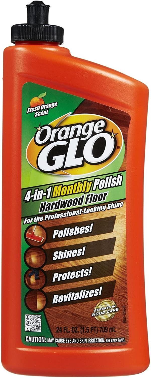 Orange Glo 4-in-1 Hardwood Floor Polish - Orange - 24 oz