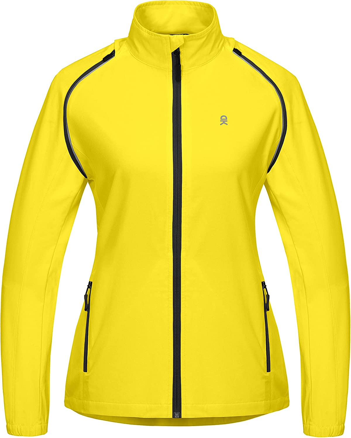 Little Donkey Andy Women's Quick-Dry Running Jacket, Convertible UPF 50+ Cycling Jacket Windbreaker with Removable Sleeves : Sports & Outdoors