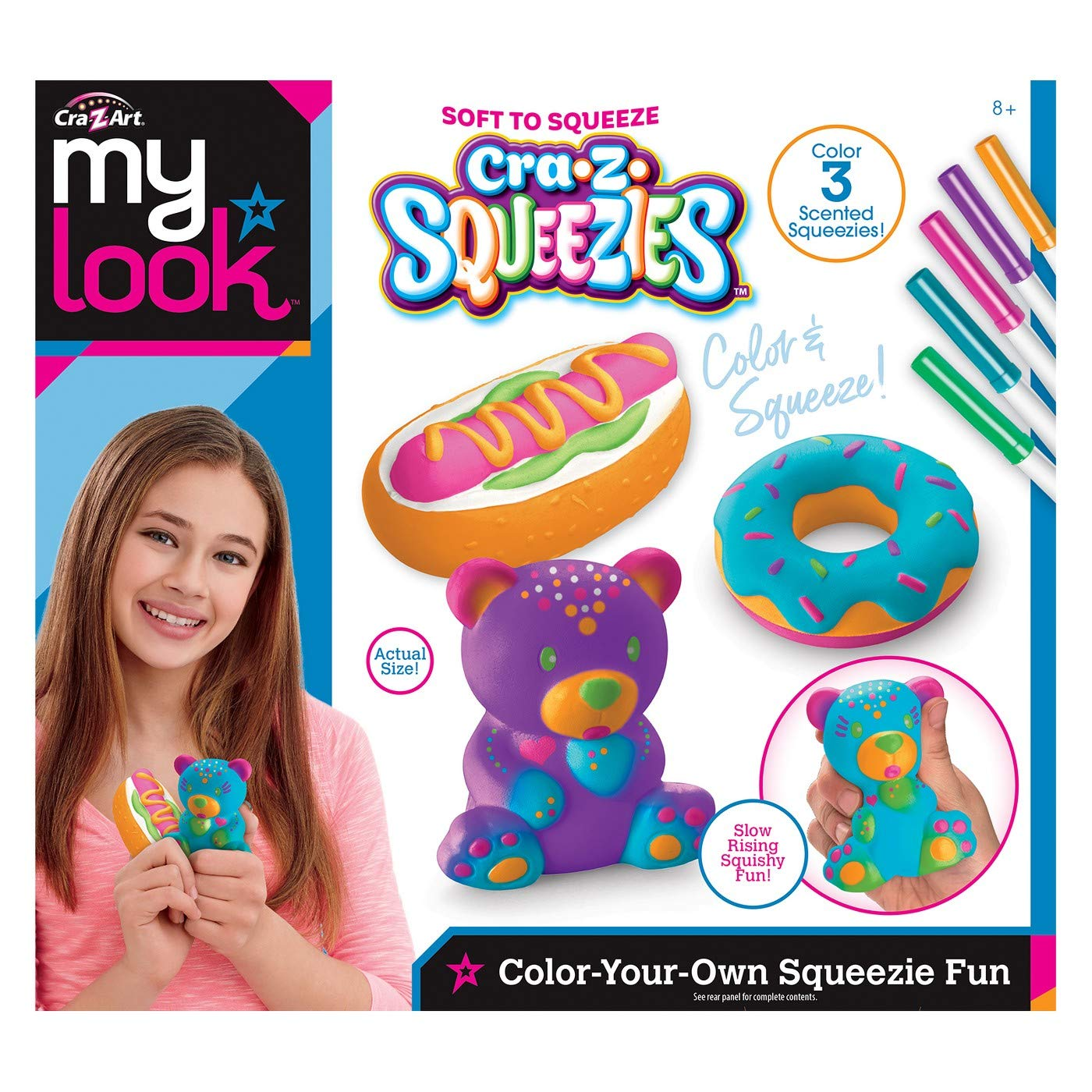 Color Your Own Squeezie Fun CRA-Z-Art My Look