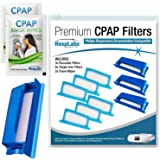 RespLabs CPAP Filters, Compatible with Philips DreamStation Device, 3 Reusable and 6 Disposable