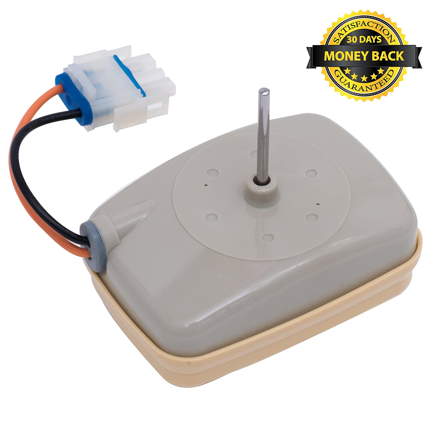 Replaces WR60x10138 WR60x10346 AP5955766 PS10063450 WR60X23584 BlueStars Exact Fit for GE /& Hotpoint Refrigerator Ultra Durable WR60X10141 Refrigerator Evaporator Fan Motor Replacement by Blue Stars