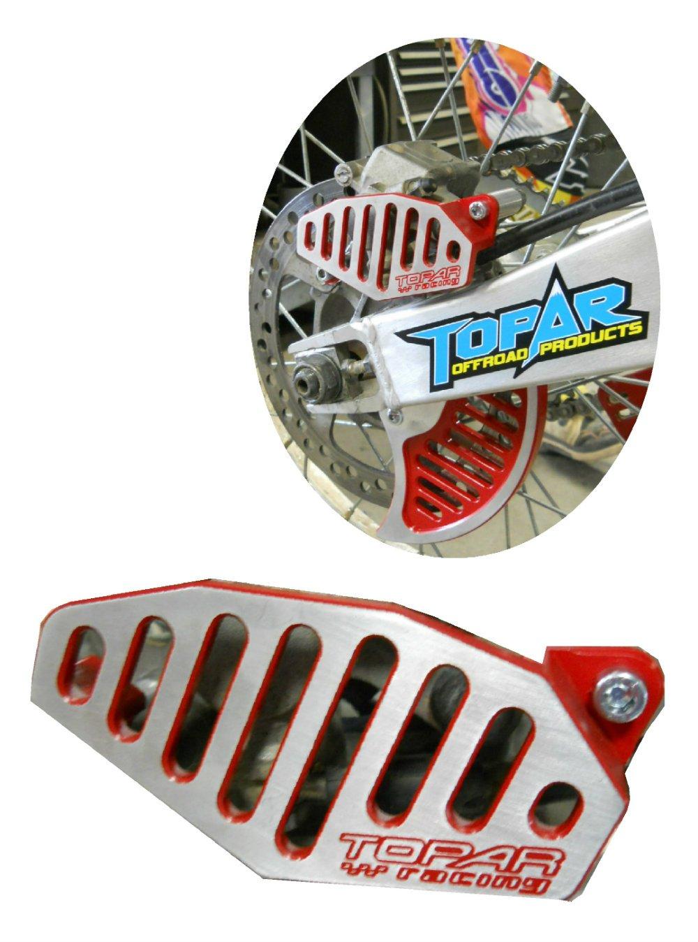 Topar Racing 130-108-XR-HCR OEM REPLACEMENT HONDA REAR BRAKE CALIPER GUARD 1999-2001 CR125,CR250 and 2000-2006 XR650R