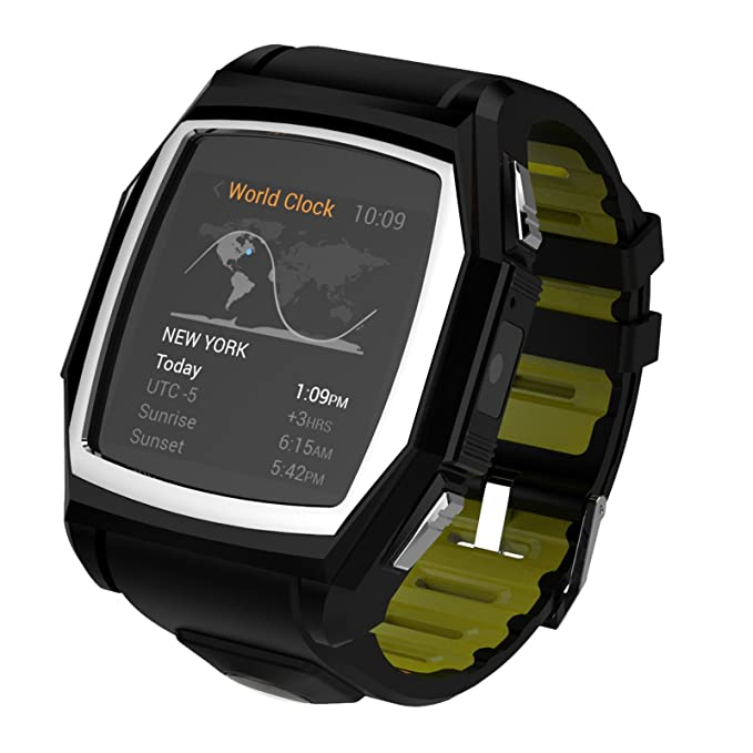 Amazon.com: Kingwear T68 Waterproof Smartwatch for Ios and ...
