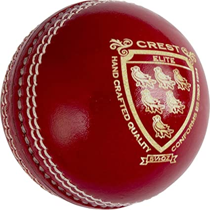 Gray Nicolls Cricket Sports Ball Crest Elite 5.5Oz Red