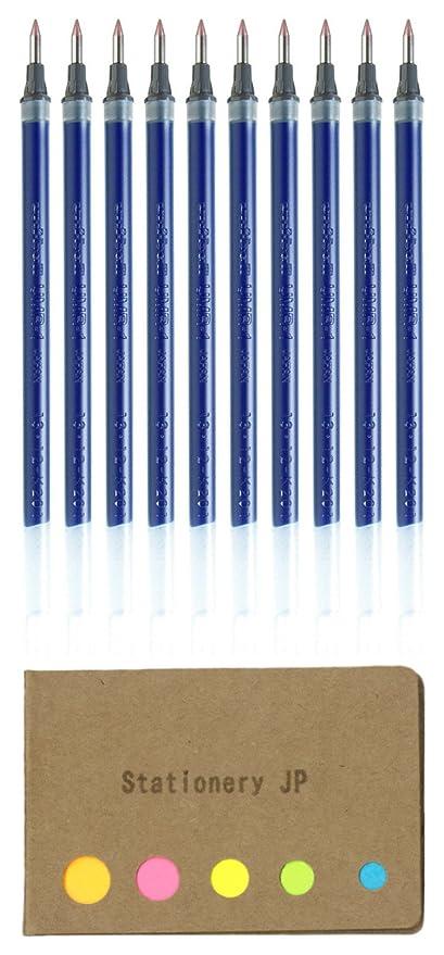 Uni-Ball Signo umr-1/Blue refill for um-151/ultra-fine 0.38/mm Set di 10