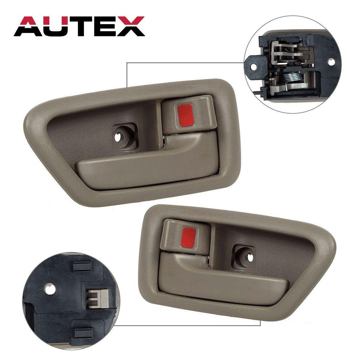 Amazon Autex 9100591004 Beige Interior Door Handle Front Rear