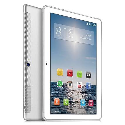 4G LTE Tablet 10 Pulgadas HD - TOSCIDO W109 Android 7.0,Quad Core,32GM ROM,2GB RAM,Cámara de 2MP + 5MP,Doble Altavoz ...