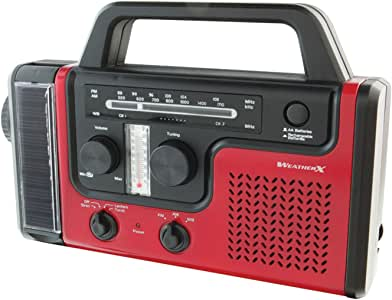 Digital Products International WR383R Crank Weather Radio & Flashlight