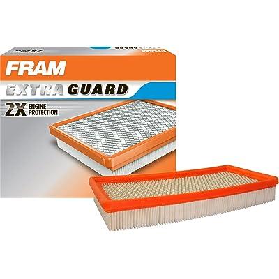 FRAM CA7421 Extra Guard Round Plastisol Air Filter: Automotive