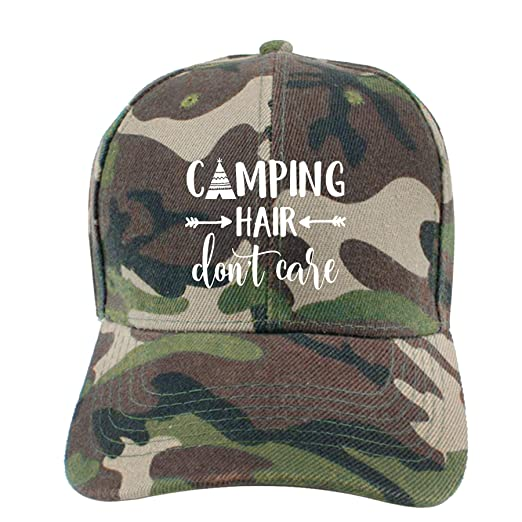 Image Unavailable. Image not available for. Color  Buyiyang-01 Mens Camp  Hair Don t Care Cotton Denim Baseball Hat Adjustable Street Rapper 2e8681a867ee