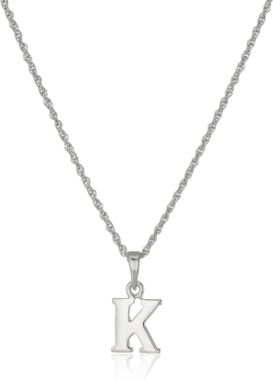 Sterling Silver Alphabet Capital Letter H Pendant Charm