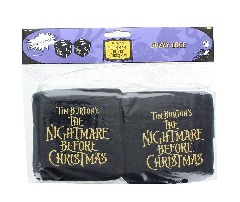 Neca Nightmare Before Christmas Fuzzy Dice