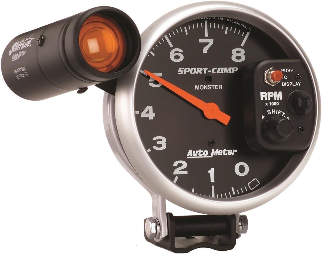 Auto Meter 3905 Sport-Comp Shift-Lite Tachometer