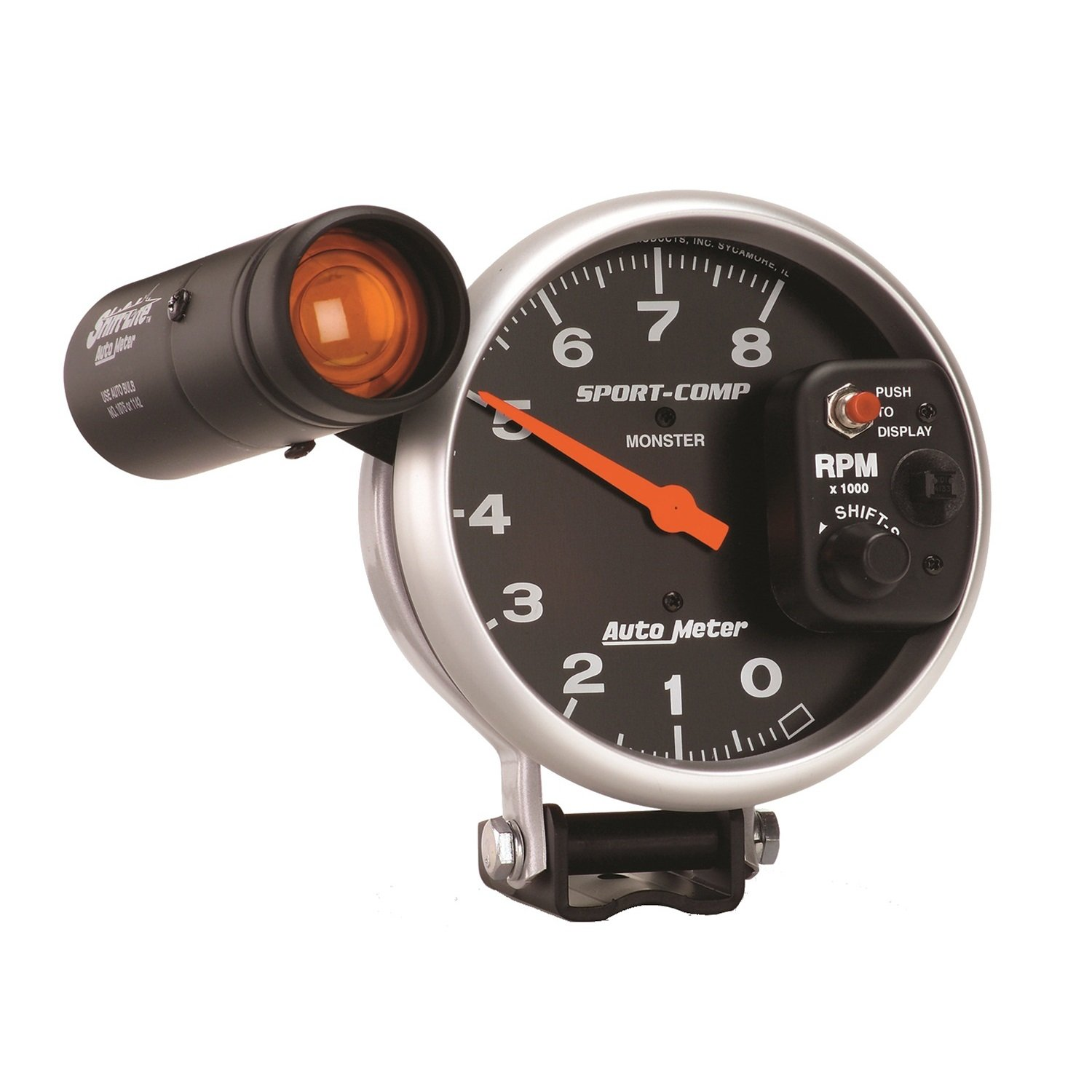 Auto Meter 3905 Sport-Comp Shift-Lite Tachometer by Auto Meter (Image #1)